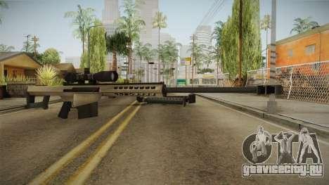 Battlefield 4 - M82A3 для GTA San Andreas