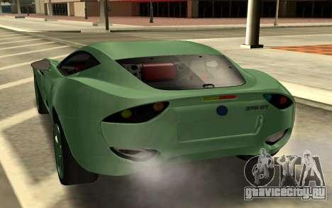 AC 378 GT Zagato для GTA San Andreas вид сзади слева