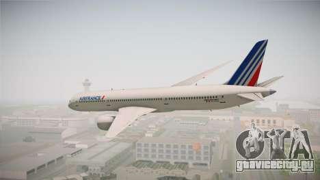Boeing 787 Air France для GTA San Andreas вид слева