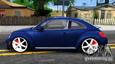 Volkswagen Beetle для GTA San Andreas вид слева