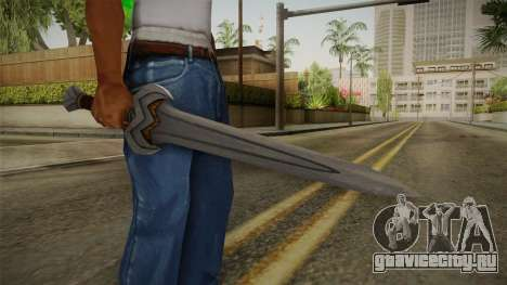Injustice: Gods Among Us - Amazonian Sword для GTA San Andreas третий скриншот