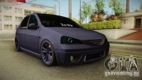 Dacia Logan Low Style для GTA San Andreas