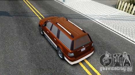 Dundreary Landstal GTA IV для GTA San Andreas вид сзади