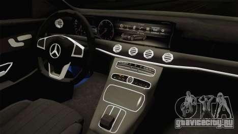 Mercedes-Benz E530 Serbian Mafia для GTA San Andreas вид изнутри