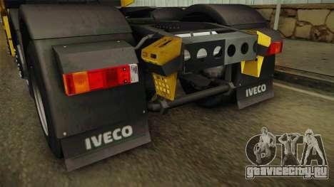 Iveco Stralis Hi-Way 560 E6 6x2 v3.0 для GTA San Andreas вид снизу