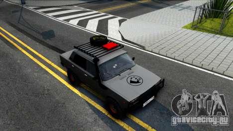 ВАЗ 2107 4X4 для GTA San Andreas вид справа