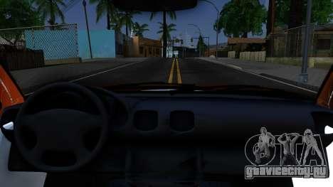 Daewoo Nexia для GTA San Andreas вид изнутри