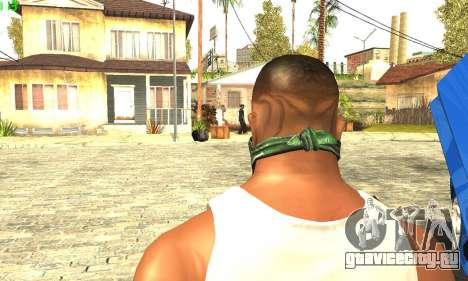 Ремастеринг Сиджея Скин 2017 для GTA San Andreas третий скриншот