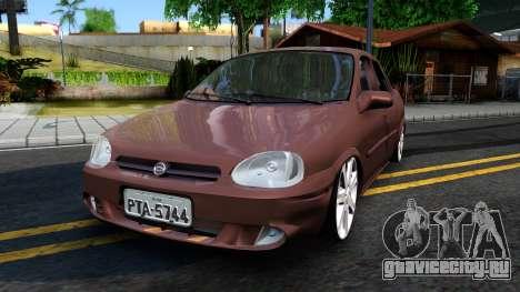 Chevrolet Corsa Sedan для GTA San Andreas