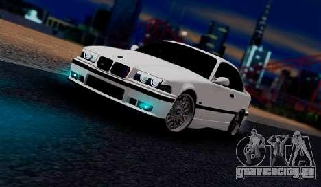 BMW M3 E36 ZLO для GTA San Andreas вид слева