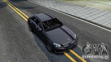 Mercedes-Benz C250 AMG Edition для GTA San Andreas вид справа
