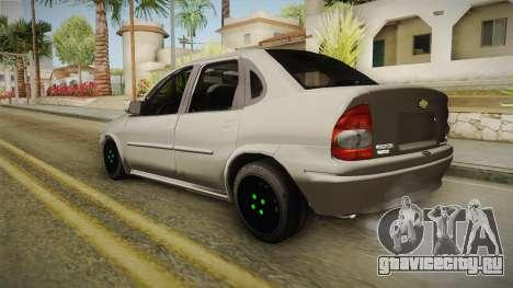 Chevrolet Corsa 1.4 для GTA San Andreas вид слева