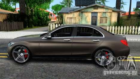 Mercedes-Benz C250 AMG Edition для GTA San Andreas вид слева