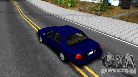Ford Crown Victoria для GTA San Andreas