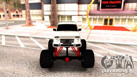 Vaz 2121 Monster Armenian для GTA San Andreas вид сзади