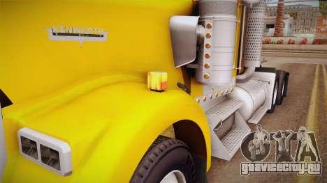 Kenworth W900 ATS 6x2 Middit Cab Low для GTA San Andreas
