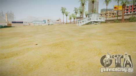Beach of Santa Maria in HD and HQ v0.1 для GTA San Andreas второй скриншот