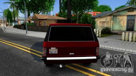 Huntley HD для GTA San Andreas вид сзади слева