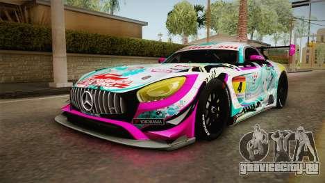 Mercedes-Benz AMG GT3 Goodsmile Racing 2017 для GTA San Andreas