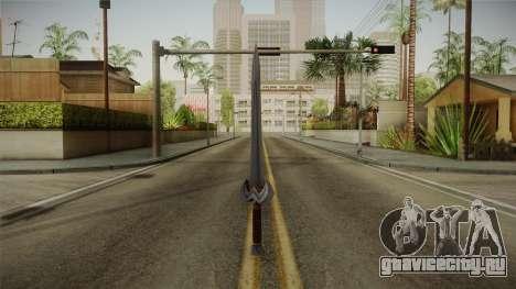 Injustice: Gods Among Us - Amazonian Sword для GTA San Andreas второй скриншот