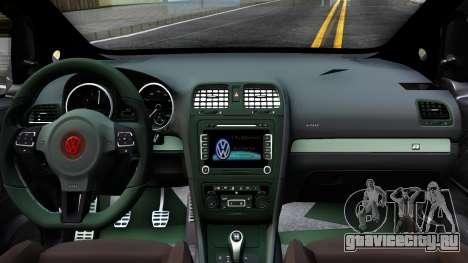 Volkswagen Fox для GTA San Andreas вид изнутри
