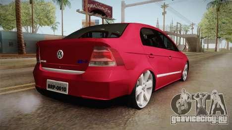 Volkswagen Voyage Fix для GTA San Andreas вид слева