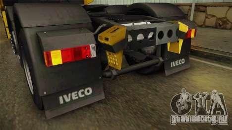 Iveco Stralis Hi-Way 560 E6 6x2 v3.0 для GTA San Andreas салон