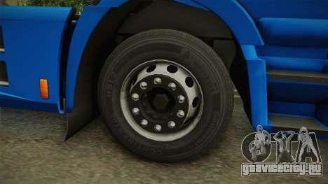 Iveco Stralis Hi-Way 560 E6 4x2 v3.2 для GTA San Andreas вид сзади