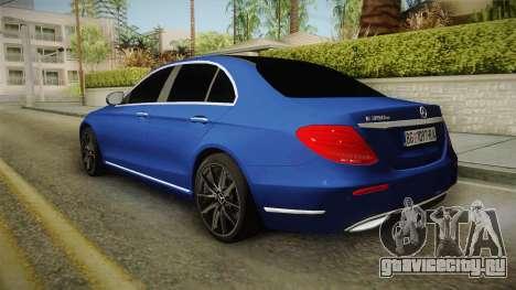 Mercedes-Benz E530 Serbian Mafia для GTA San Andreas вид слева
