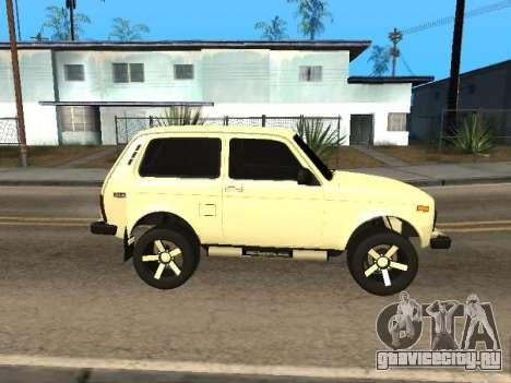 Vaz 2121 Niva Armenian для GTA San Andreas вид слева