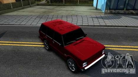 Huntley HD для GTA San Andreas вид справа