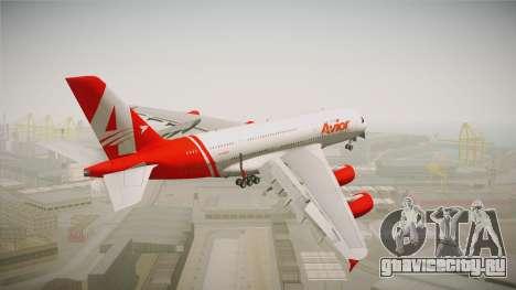 Airbus A380 Avior Airlines для GTA San Andreas