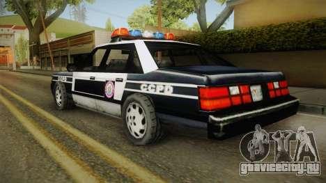Manhunt (GTA VC) Police CCPD для GTA San Andreas вид слева