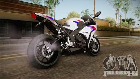 Honda CBR1000RR HRC 2012 для GTA San Andreas вид слева