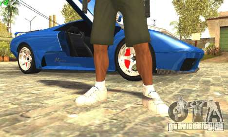 Ремастеринг Сиджея Скин 2017 для GTA San Andreas пятый скриншот