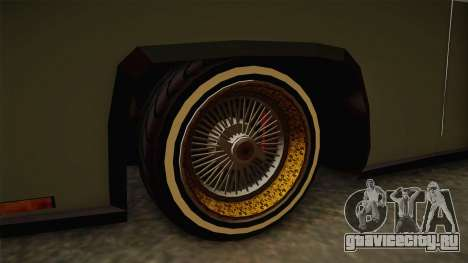 New Buccaneer для GTA San Andreas вид сзади
