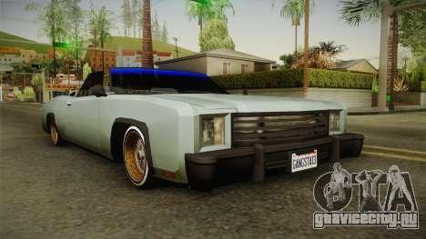 New Buccaneer для GTA San Andreas