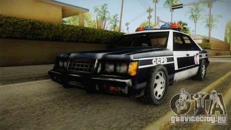 Manhunt (GTA VC) Police CCPD для GTA San Andreas вид сзади слева