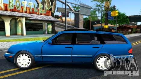 Mercedes-Benz W210 E320 1997 для GTA San Andreas вид слева