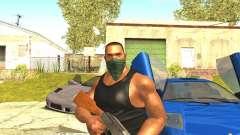 Ремастеринг Сиджея Скин 2017 для GTA San Andreas