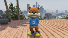 Conker The Squirrel для GTA 5