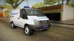 Ford Transit Полиција