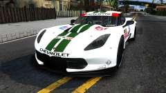 Chevrolet Corvette C7R GTE 2014 для GTA San Andreas
