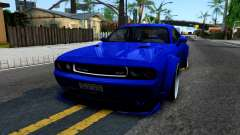 Dodge Challenger SRT8 Liberty Walk для GTA San Andreas