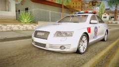 Audi A6 Turkish Police