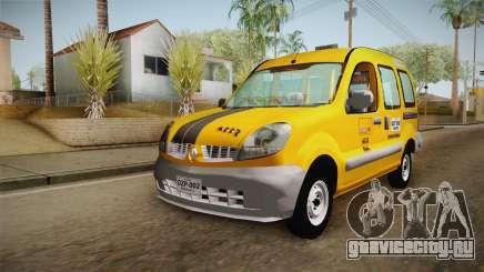 Renault Kangoo Taxi Colombiano для GTA San Andreas