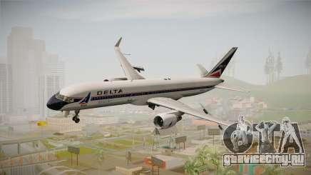 Boeing 757-200 Delta Air Lines (Widget) для GTA San Andreas