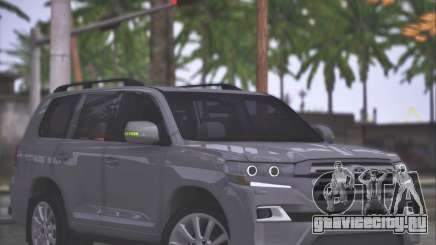 Toyota Land Cruiser 200 Sport Design для GTA San Andreas