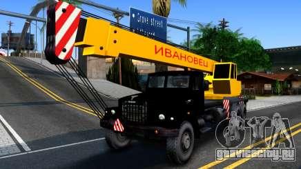 КрАЗ-257 Автокран для GTA San Andreas