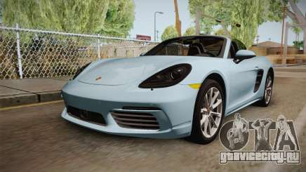 Porsche 718 Boxster S Cabrio для GTA San Andreas